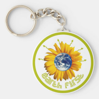 earth first keychain