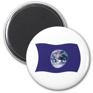 Earth Flag Magnet