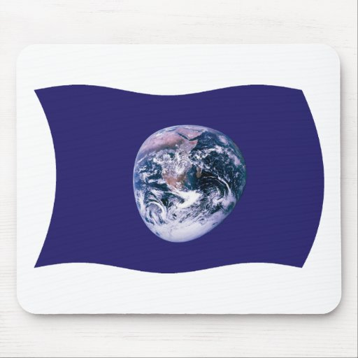 Earth Flag Mousepad