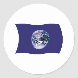 Earth Flag Sticker