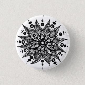 Earth flower button