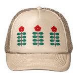 Earth Flower Stripe Trucker Hat