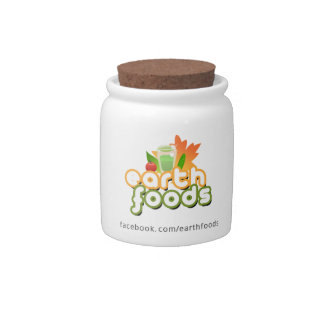 Earth Foods - Superfoods Container Candy Dishes