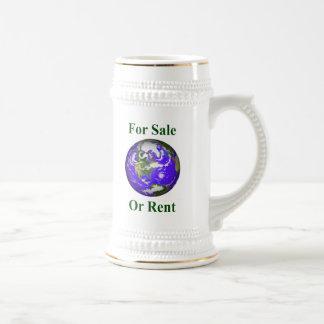 Earth For Sale Or Rent Coffee Mug