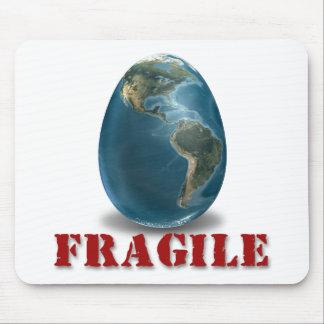 Earth Fragile Mousepad