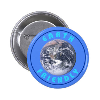 Earth Friendly 2 Inch Round Button