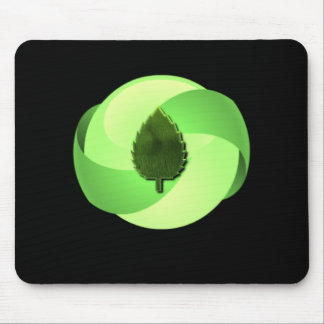 Earth Friendly Black Mouse Pad