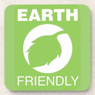 Earth friendly coaster