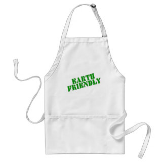 EARTH FRIENDLY Earth Day Tees and Totes Adult Apron