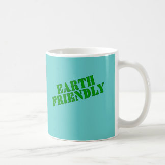 EARTH FRIENDLY Earth Day Tees and Totes Classic White Coffee Mug