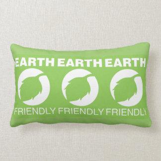 Earth friendly oblong pillow