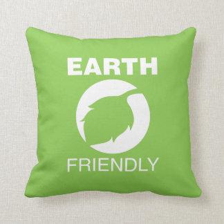 Earth Friendly Throw Pillows