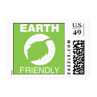 Earth Friendly Postage