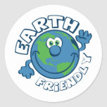 Earth Friendly Stickers