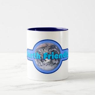 Earth Friendly Two-Tone Coffee Mug