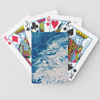 Earth from a Satellite 2 Bicycle Playing Cards