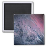 Earth from a Satellite 2 Inch Square Magnet