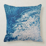 Earth from a Satellite 2 Throw Pillow