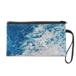 Earth from a Satellite 2 Wristlet Purse
