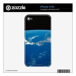 Earth from a Satellite 4 Decals For iPhone 4S