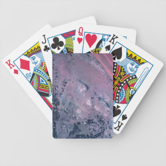 Earth from a Satellite Bicycle Playing Cards