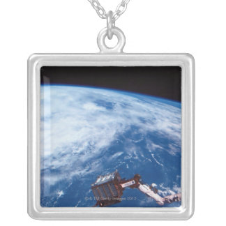 Earth from a Space Shuttle 2 Personalized Necklace