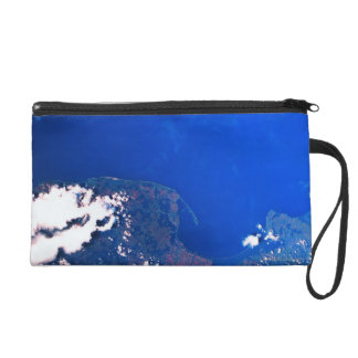 Earth from a Space Shuttle Wristlet Purse