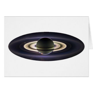 EARTH FROM CASSINI CARD
