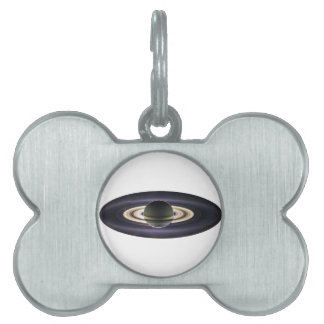 EARTH FROM CASSINI PET ID TAG