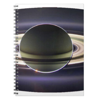 EARTH FROM CASSINI SPIRAL NOTEBOOK