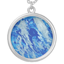 Earth from Heaven Silver Plated Necklace
