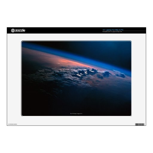 """Earth from Outer Space 2 15"""" Laptop Skin"""