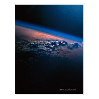 Earth from Outer Space 2 Postcard