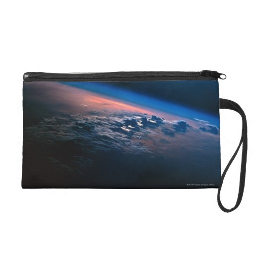 Earth from Outer Space 2 Wristlet Purse
