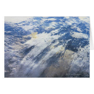 Earth from Outer Space 4 Card