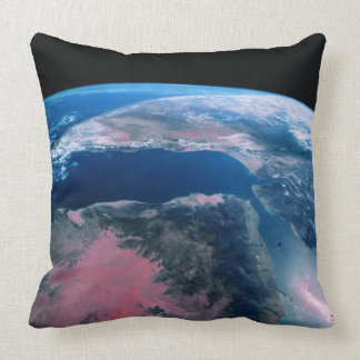 Earth from Outer Space 5 Throw Pillow