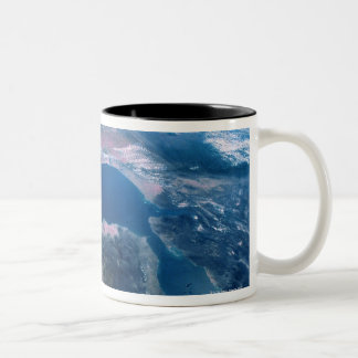 Earth from Outer Space 5 Two-Tone Coffee Mug