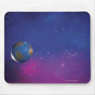 Earth from outer space mouse pad