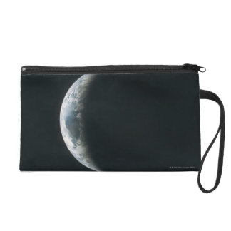 Earth from Outer Space Wristlet Purse