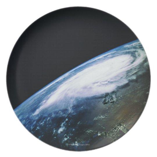 Earth from Satellite 2 Dinner Plate