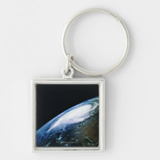 Earth from Satellite 2 Keychain