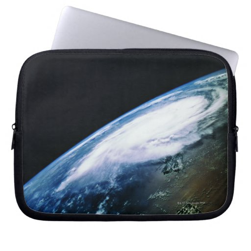 Earth from Satellite 2 Laptop Sleeves