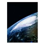 Earth from Satellite 2 Post Card