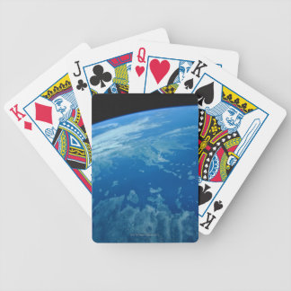 Earth from Satellite 3 Bicycle Playing Cards