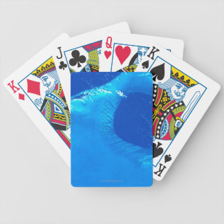 Earth from Satellite 4 Bicycle Playing Cards