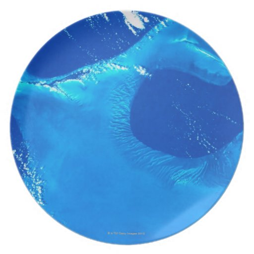 Earth from Satellite 4 Plate