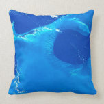 Earth from Satellite 4 Throw Pillow