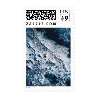 Earth from Satellite 5 Postage Stamp
