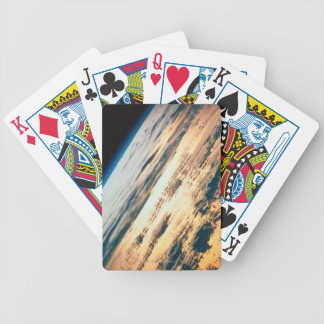Earth from Satellite 6 Bicycle Playing Cards