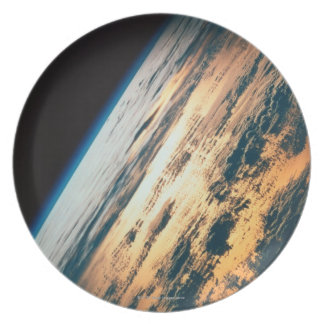 Earth from Satellite 6 Party Plate
